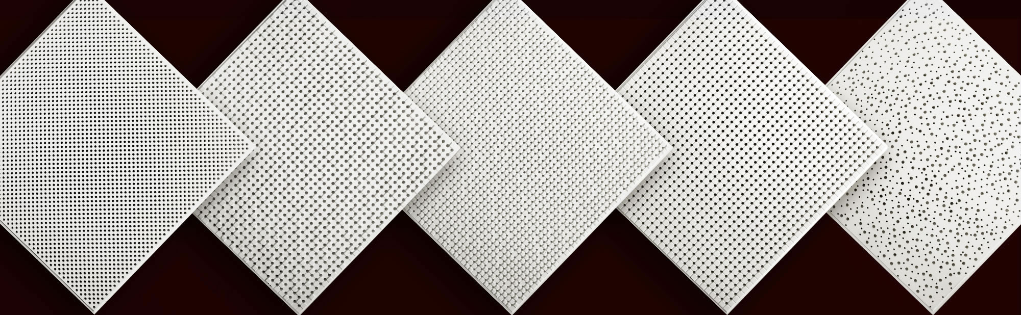 lightweight acoustic tiles